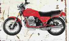 MotoGuzzi MilleGT 1989 Aged Vintage SIGN A3 LARGE Retro