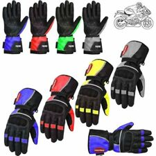 Motorrad-Handschuhe aus Polyester Protektor-Allwetter
