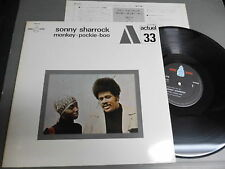 SONNY SHARROCK Japan LP wINSERT, MONKEY-POCKIE-BOO G/F Cover