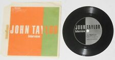 "John Taylor (Duran Duran) - interview - original Japan promo 5"" flexi vinyl"