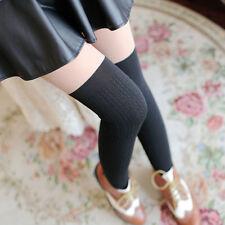 Pantyhose Stocking Fake Stitching Elastic Silk Over Knee Tights Anti-hook