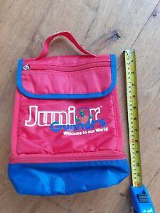 Arsenal Junior Gunners Gunosauraus Red Lunch Bag 20 cm wide x 26 cm high x 11cm