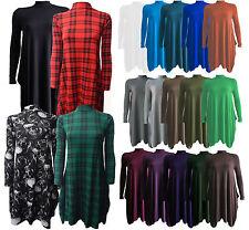 Full Length Long Sleeve Skater Dresses for Women
