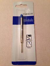 PARKER QUINK BLUE INK BALLPOINT REFILL-MEDIUM POINT-UK-NEW OLD STOCK