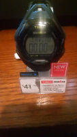 "Timex TW5M10400 ""Ironman "" 30-Lap Resin Watch, Sleek, Alarm, Indiglo Black"