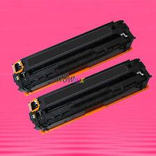 2 Non-OEM Alternative Black TONER for HP CB540A 125A COLOR LASERJET CP1215