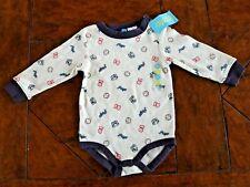 Pugs! New Quality Gymboree Pug Dog Long Sleeved Shirt Bodysuit Baby Boy 6-12 m