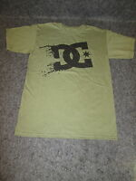 Uomo DC Moda Casual pattinaggio bmx mx Maglietta T-Shirt S-XL XXL verde {DC55}