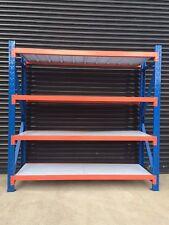 Brand New 2M Garage Warehouse Steel Storage Shelving Shelves Racking 800kgs