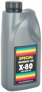 Speciality SAE80W/90 GL4 Pressure Washer Gearbox Pump Engine Oil 1L