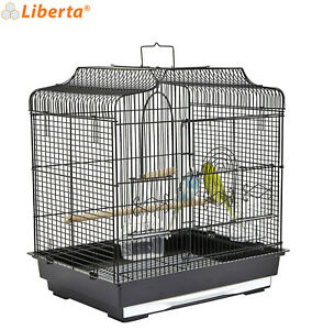 LIBERTA BLACK SIAM METAL CAGE BUDGIE CANARY FINCH CAGE GENUINE QUALITY MADE