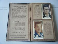 More details for full set of ardath 'famous footballers' cards 1934. stanley matthews etc.