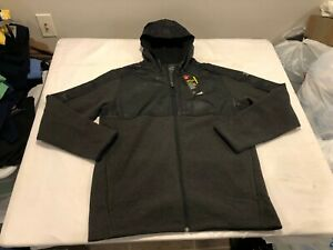 NWT $80.00 Under Armour Mens CG Infrared Fleece Full Zip Hoodie Black Size LARGE