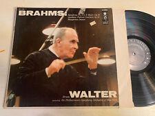 Bruno Walter Brahms LP Columbia 6 Eye Mono 1950's Symphony No. 3 VG+