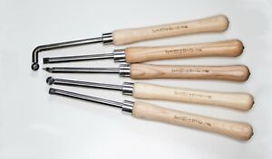 Heavy Duty Carbide Tipped Chisel SET (5 Chisels) (UK Tools)