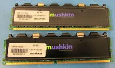 Mushkin Enhanced 2GB (2x 1GB) HP2-4200 240-Pin DDR2 SDRAM Memory 991389