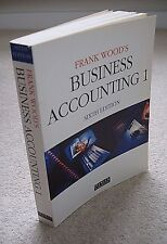 Frank Wood's Business Accounting 1 Sixth Edition.1993