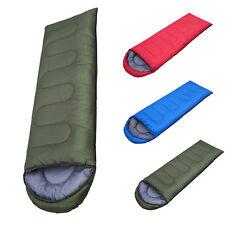 Single Adult Waterproof Outdoor Camping Travel Hiking Envelope Sleeping Bag New