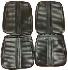 1967 Satellite GTX Seat Covers Front Buckets Western Scroll Pattern Upholstery