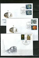 Briefmarken der DDR (1949-1990) als Satz mit Ersttagsbrief-Erhaltungszustand