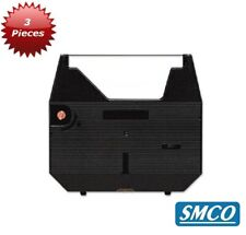 More details for 3 panasonic kx-r193 typewriter  ribbons black ink cassette quality compat bysmco