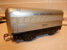 Marx O-Gauge Train 4-Wheel Tin #2071 NYC Ex.++