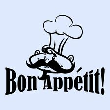BON APPETIT Dining Room/Kitchen Cupboard/Wall Art Sticker/Transfer - MEDIUM