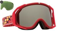 NEW Electric Rig Matte Red Silver Mirror mens ski snowboard goggles +lens Rt$160