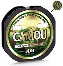 MONOFILO DAIWA Jtm CAMOU 1000mt 0,31mm  CARP FISHING PER MIMETISMO FONDALE