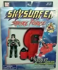Skysurfer Strike Force -Sliced Ice and Her Sky Surfer Vehicle By Bandai (MISB)