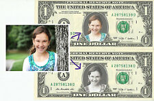 CUSTOMIZED Dollar Bill WITH YOUR PICTURE - REAL, Spendable Money!