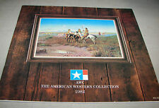 The American Western Collection Bozeman Montana 1982 Gallery Catalog