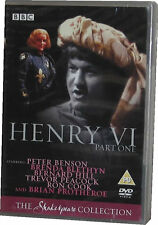 Henry VI Trilogy - BBC Shakespeare 3 DVD - New Sealed