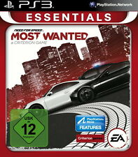 Sony Playstation 3 PS3 Spiel Need For Speed: Most Wanted -- Essentials
