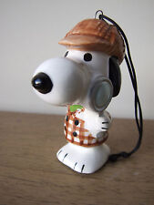 VTG 1965 United Feature Syndicate Peanuts Snoopy Sherlock Holmes Ornament HTF