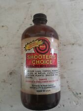 Vintage Shooter's Choice Firearm Bore Cleaner
