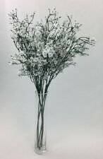 6 X  Artificial silk white baby breath's  flowers home decor/flower arrangements