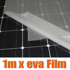 1Meter x width 1M thick 0.4mm EVA FILM for Solar Cell Encapsulation DIY Solar