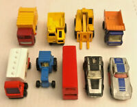 9pc lot Vintage Matchbox Superfast Mixed Cars lot of 9 Lesney England UK