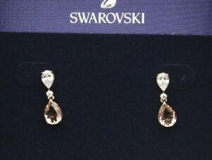 Swarovski Vintage Pear Earrings Pink 5466888 (S)