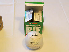 Worth Softball R-11Ws official league Rif reduced injury factor level 10 Nos Nwt