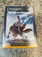 Wolf Lord on Thunderwolf - Space Wolves Warhammer 40k 40,000 Games Workshop New