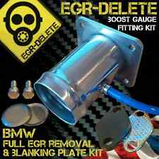 BMW E39 5 Series 520d 525d 530d X5 E53 3.0 BOOST GAUGE EGR removal kit blanking