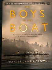 SIGNED DANIEL JAMES BROWN*THE BOYS IN THE BOAT* 1ST/1ST HCDJ SOON TO BE MOVIE