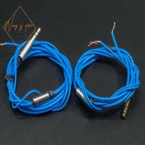 Blue New Upgrade Silver Plated Cable For KOSS Porta Pro Portapro PP Headphones