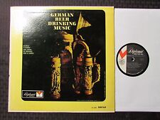 German Beer Drinking Music LP Mono VG+/VG Diplomat Records – DS 2293