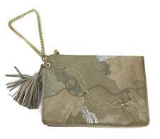 Vintage Carlo Fiori Snakeskin Exotic Leather Envelope Bag Handbag Purse Italy