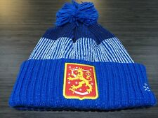 2016 World Cup of Hockey Team Finland Pom Toque Beanie Cap Hat Winter Cuffed