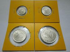 "MALAYSIA  5,10,20 & 50sen coin 1973 Parliament series  ""BU"""
