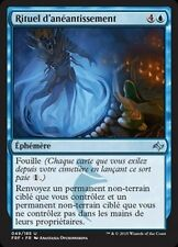 MTG Magic FRF FOIL - Rite of Undoing/Rituel d'anéantissement, French/VF